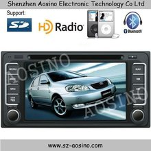 Aosino High quality TOYOTA old corolla car dvd player/car radio two din 7'' touch screen