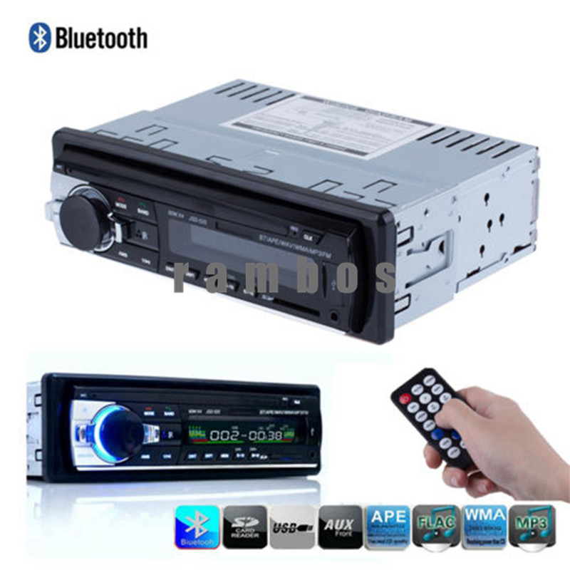 High Quality Car Audio Stereo In Dash Auto Car Radio MP3 Player FM Aux Input Receiver USB SD with Remote