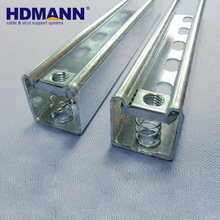 Support System Hot Dipped Galvanized Strut Channel