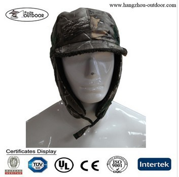 Camo Earflap Hunting Hat Russian Winter Hat