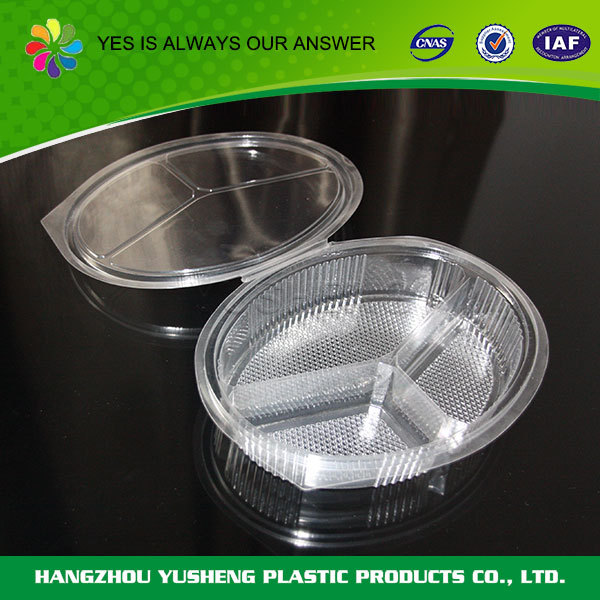 Disposable wholesale clear food packaging snack box