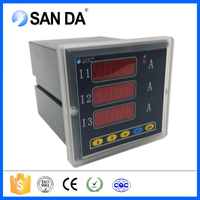 Three phase electric meter reading instrument ammeter