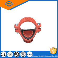 20% discouneted Mechanical cross threaded outlet/ductile iron pipe fittings