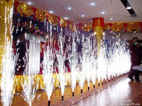 high quality 1m 2m 3m 5m 25s 30s 45s 60s stage silver fountains/indoor fireworks