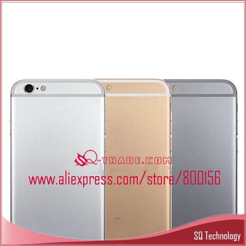 Replacement Mobile Phone Cover For iPhone 5S Back Cover Housing ,For 6G Mini Housing Grey/White/Golden