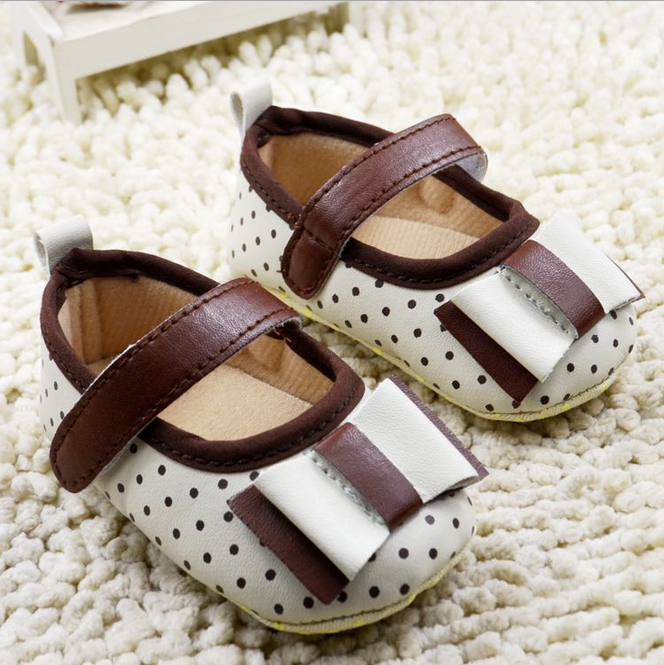 New style glitter powder dress infant girls baby shoes