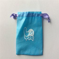 Manufacture wholesale custom collecting gift jewelry nonwoven drawstring bag bottle packing bag