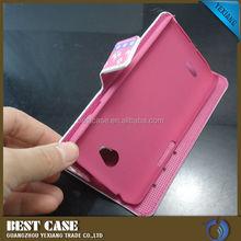 For LG L70 Back Cover, Cell Phone Leather Case For LG Optimus L70