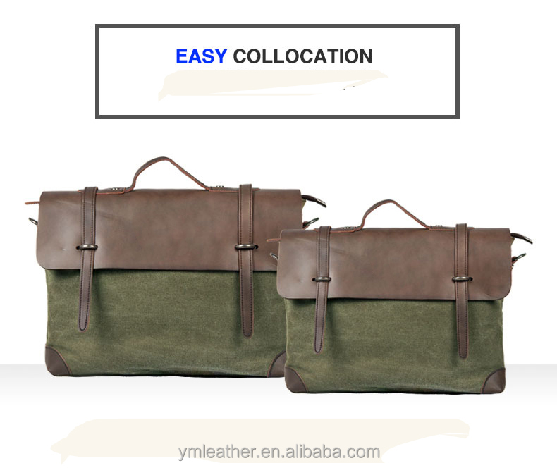 HOT Canvas crossbody bag military army vintage messenger bags laptop canvas satchel men