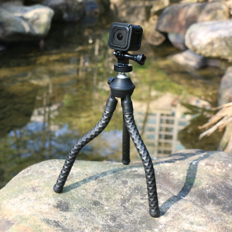 Sunrise Mini Portable Adjustable Flexible Octopus Selfie Stick Tripod for Smartphone Mobile Phone Camera Stand Holder