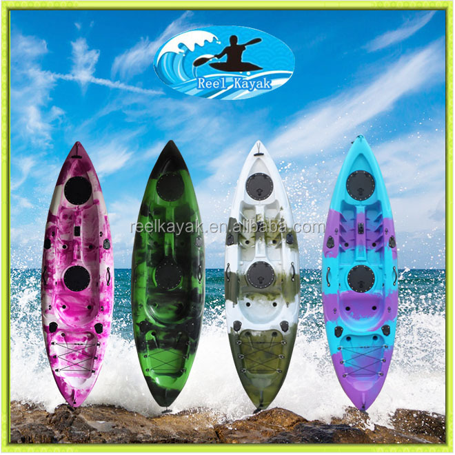 2015 hot sale Sunrise Angler sit on top fishing kayak Made in China fishing kayak with pedals