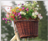 2016 New wicker bicycle baskets