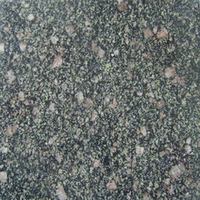 Nature green granite stone Pingyi Peacock Green granite for countertops
