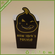 Potato Chips scoop paper Cone Paper Potato Chips French Fries Container packaging food box