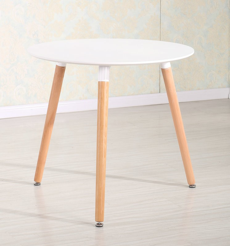 Latest designs wood legs mdf round dining table buy for Latest wooden dining table designs