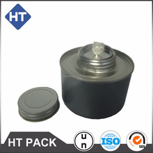Exported small tin hot pot solid alcohol tank,metal fuel cans,tin cans wholesale customized