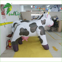 Custom advertising inflatable cow milka, giant inflatable cow