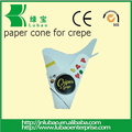disposable and Eco Friendly Brown paperCones crepe Medium Size D17