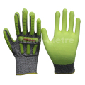 NMSAFETY TPR mechanic anti-cut and impact work gloves