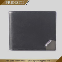 Rfid genuine leather wallet for men handmade wallet brands PRENSITI manufacturers