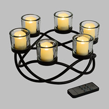 Flameless Color Changing LED Remote Control Candle With High Quality Glow Your Party