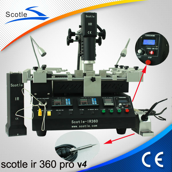 Newest Scotle IR 360 PRO Infrared BGA Reflow Station