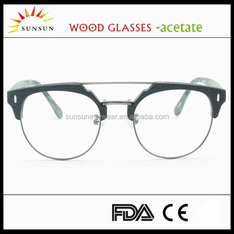 Best Glasses Frame Design : Top Design Acetate Frame Custom Logo Eyeglasses Frame Wood ...