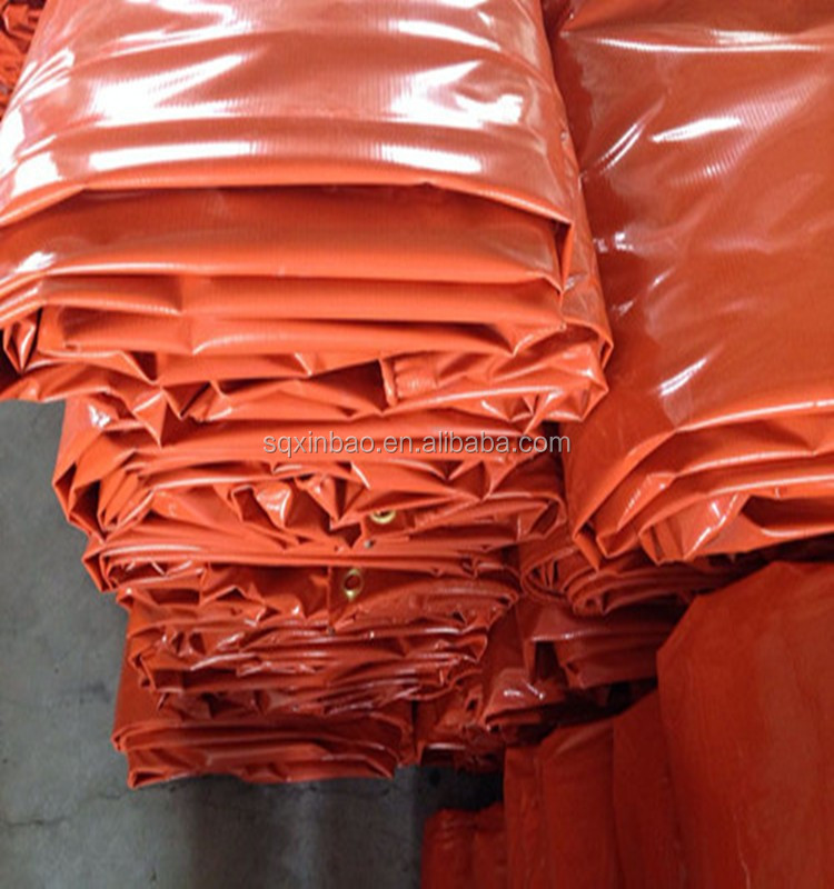 300D*500D 18*17 fire retardant pvc laminated tarpaulin for cover, truck cover, truck tarps,