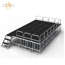 Aluminum mobile concert event staging cheap portable stage for sale