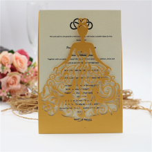 Wholesale Luxury Handmade Decoration Wedding Invitation envelope, greeting card