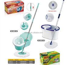 Fashionable rotating magic easy cleaning 360 wonder mop with bucket