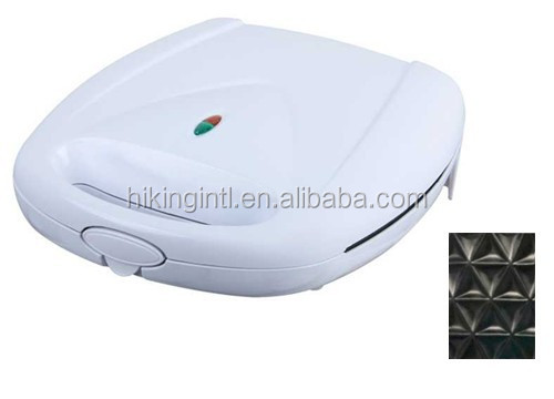 Non-stick coated plate professional sandwich maker