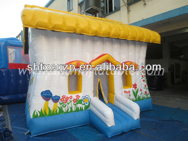 beautiful flower jumping house/inflatable bouncer