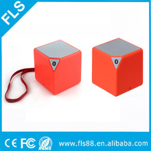 Mini Multi-function Bluetooth Speaker Square Cube Shape with Strap for Outdoor