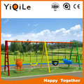 YIQILE new producted garden swing with bady seats swing made in Gungzhou China YQL-1400022