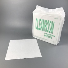 Factory Supply Dustless 50gsm <strong>12</strong> <strong>x</strong> <strong>12</strong> inch 55 Wood pulp 45 Polyester Enhanced Nonwoven Degreasing Industrial Cleaning Cloth