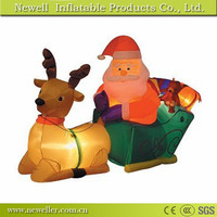 Hot selling outdoor sitting santa With Good Price