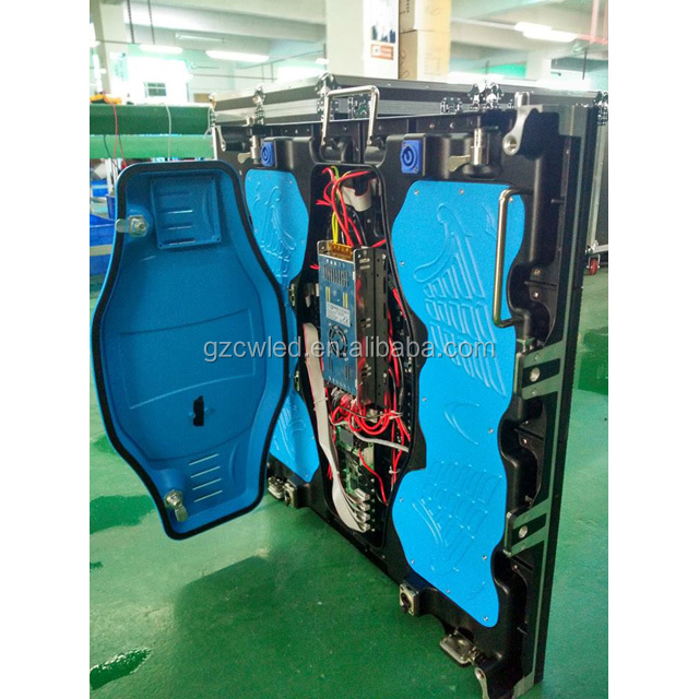 P5 outdoor SMD LED die casting aluminum Display Cabinet with NOVA Control System For Club Hotel