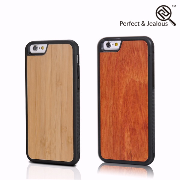 New arrival Natural wood fantastic with 3d image cheap case for phone