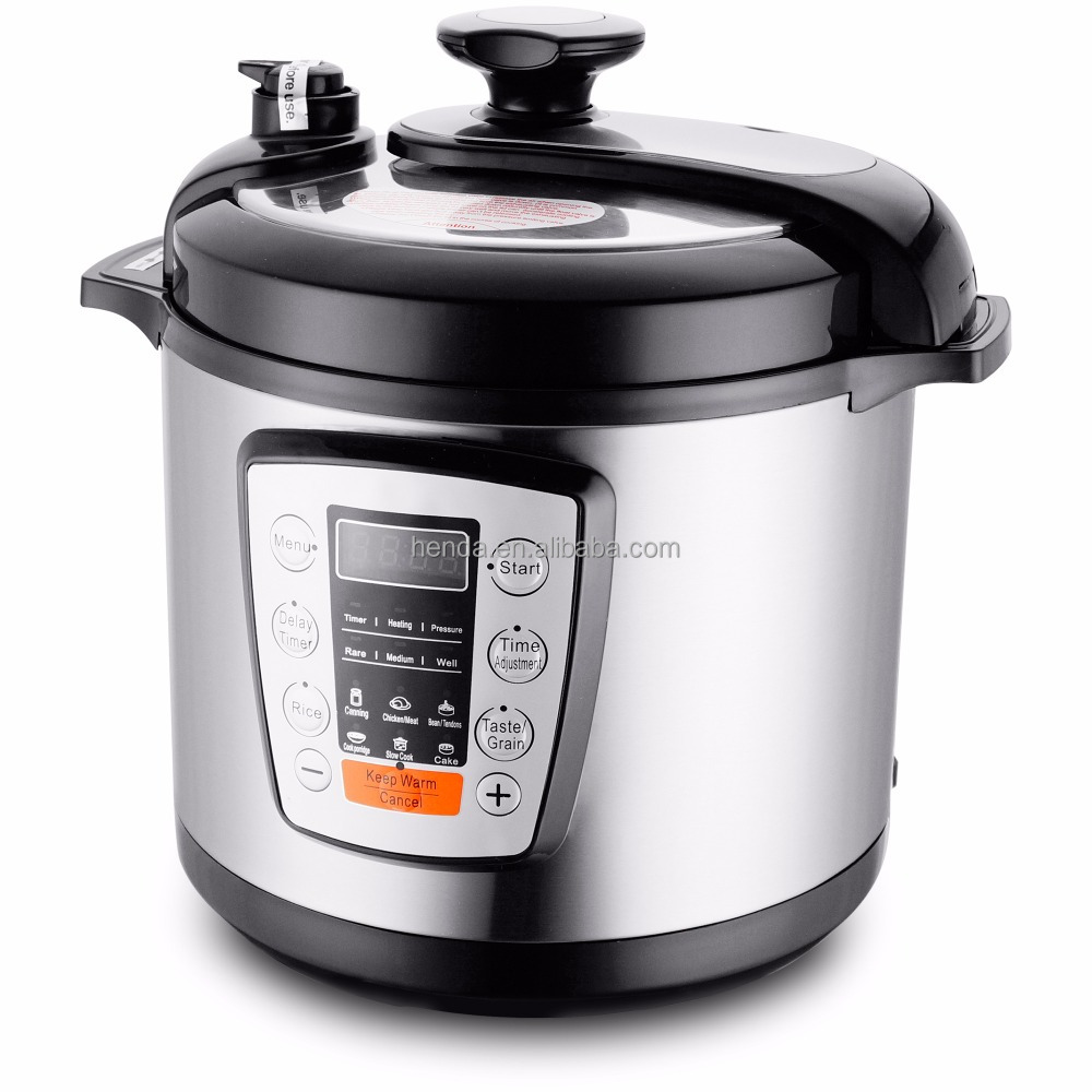 ETL Approval 5L Stainless steel digital multi electric pressure cooker - HDP-Y0504E
