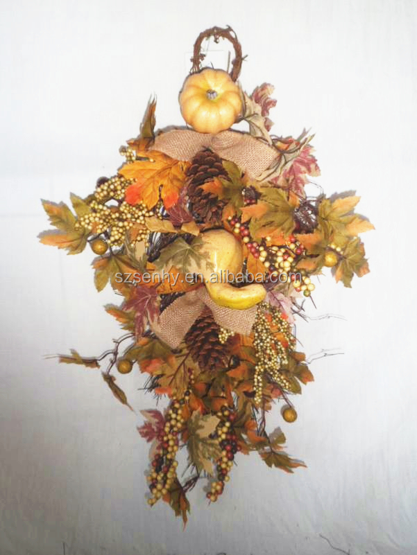 Dried Flower Wall Decor Garland/ Vine for Fall