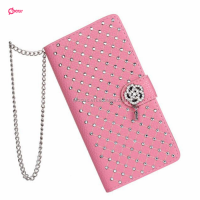 Luxury Diamond Magnetic Bling Shiny Crystal Leather Flip Wallet Case Cover for iPhone 6 5 5S