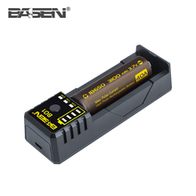 Single Slot 5v Imr 18650 26650 10440 Battery Charger Basen BO1 Smart Charger Price