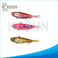 2014 hot selling 9.5cm 22g soft vib lead fish lures
