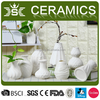 Buy Ceramic flower vase with picter shape for home decor. in China ...
