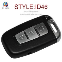 folding car key for hyundai IX35 3 button flip remote key 433MHZ 46 chip AK020006