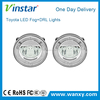 20w cre e fog light halo ring style dayline guide technology Led drl fog light for prius