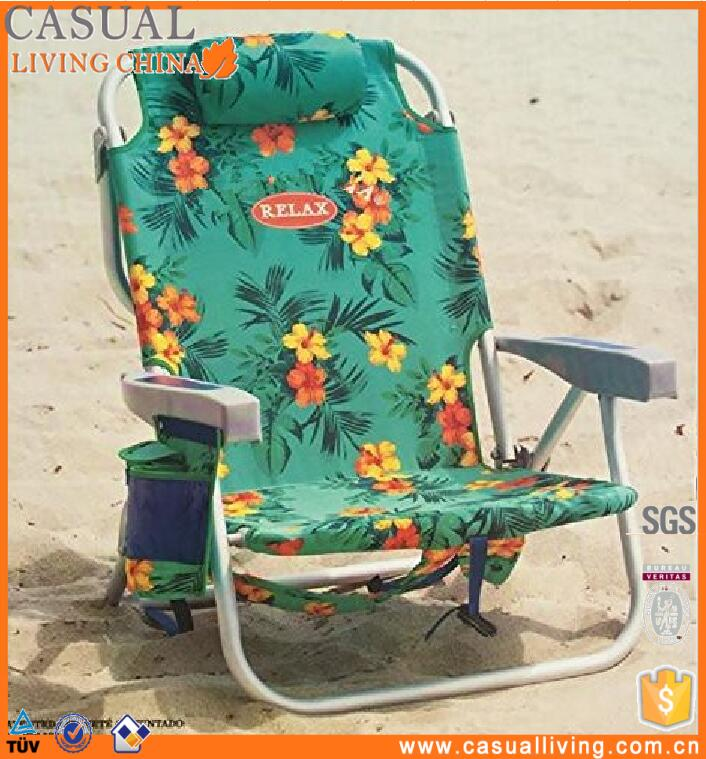 Cheap portable backpack cooler beach chair with Cooler Bag