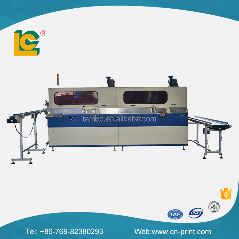China Dongguan Automatic 4-colour cylinder UV Silk Screen Printer