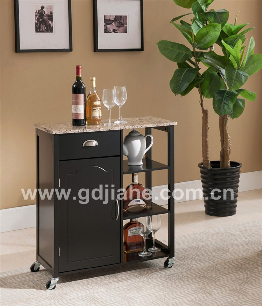 new model prefab kitchen trolley cabinet